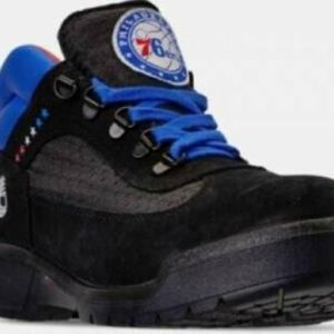 f35a32deb33 TIMBERLAND Shoes - Timberland Philadelphia 76ers NBA Field Boot Black
